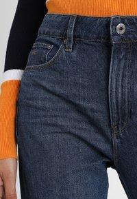 G-Star - 3301 HIGH STRAIGHT 90S - Jeans straight leg - medium aged stone - 4