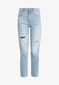 G-Star - 3301 HIGH STRAIGHT 90S - Jeans straight leg - lt aged restored 212 - 5