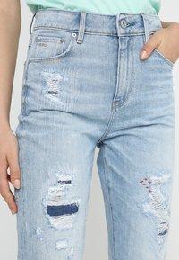 G-Star - 3301 HIGH STRAIGHT 90S - Jeans straight leg - lt aged restored 212 - 4