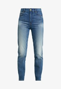 G-Star - 3301 HIGH STRAIGHT 90S - Jeans straight leg - antic indigo - 3