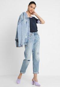 G-Star - MIDGE HIGH BOYFRIEND - Relaxed fit jeans - lt aged restored 211 - 2