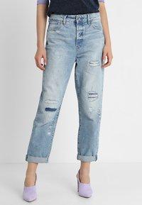 G-Star - MIDGE HIGH BOYFRIEND - Relaxed fit jeans - lt aged restored 211 - 0