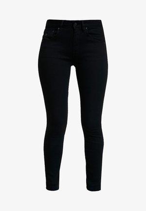 ARC 3D MID SKINNY WMN - Jeans Skinny Fit - pitch black