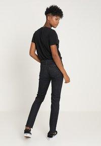 G-Star - MIDGE SADDLE STRAIGHT - Straight leg jeans - visor stretch denim - 2