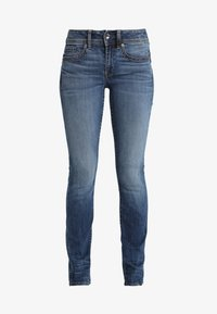 G-Star - MIDGE SADDLE MID STRAIGHT WMN NEW - Straight leg jeans - elto superstretch - 4