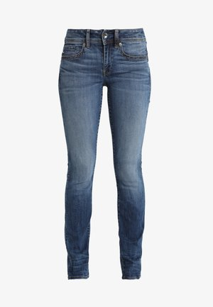 MIDGE SADDLE STRAIGHT - Straight leg jeans - elto superstretch