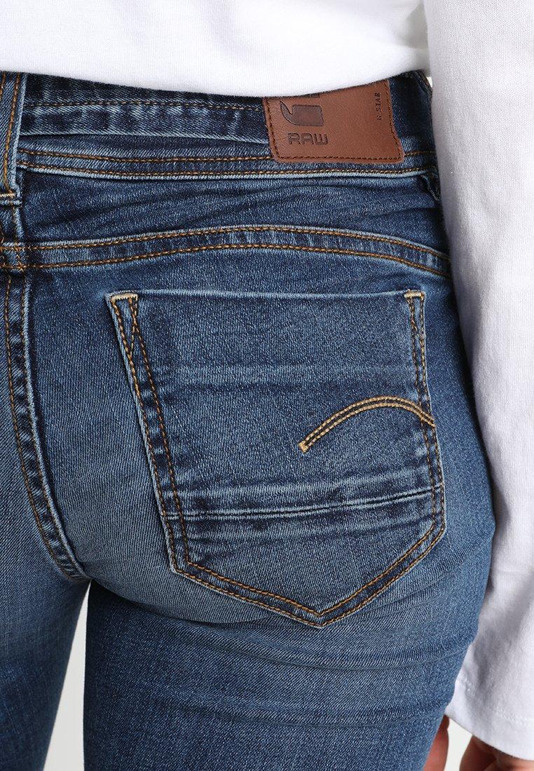 G-star Midge Saddle Mid Straight Wmn New - Jeans Leg Elto Superstretch