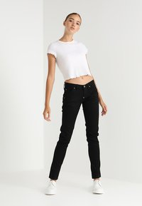G-Star - 5620 HERITAGE ANN EMBRO TAPERED WMN - Jeansy Slim Fit - rinsed-082 - 1