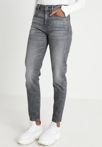 G-Star - 3301 HIGH STRAIGHT 90'S WMN - Jeans straight leg - dark aged - 0