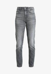 G-Star - 3301 HIGH STRAIGHT 90'S WMN - Jeans straight leg - dark aged - 4