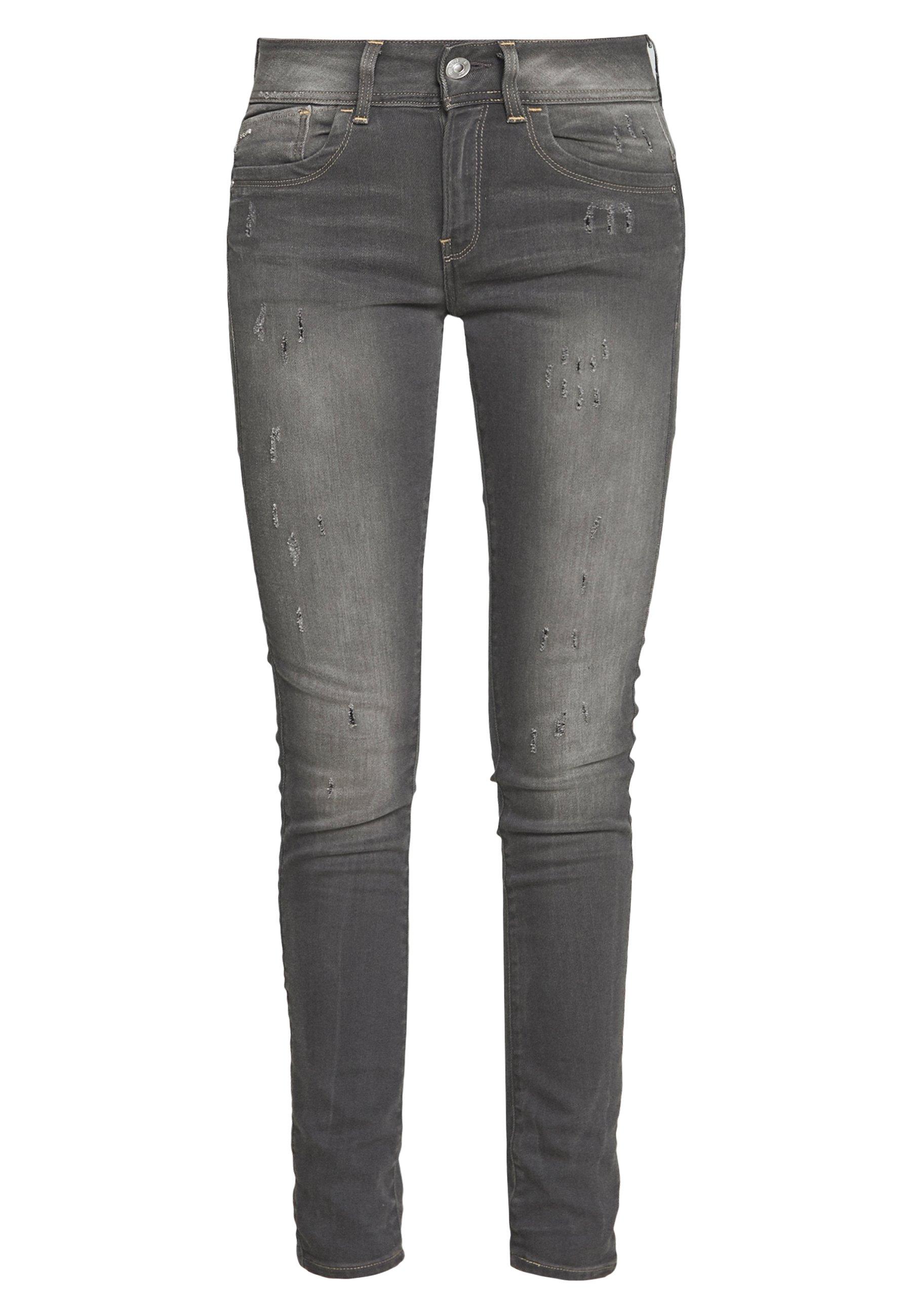 G-star Lynn Mid Skinny Wmn New - Jeans Slander Grey Superstretch