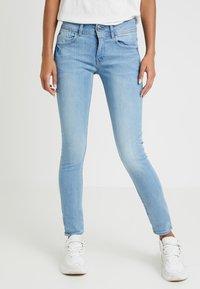 G-Star - LYNN MID SKINNY WMN NEW - Jeans Skinny Fit - neutro stretch denim - 0