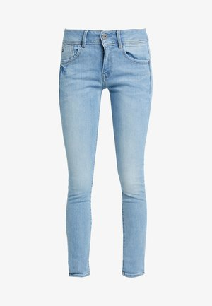 LYNN MID SKINNY WMN NEW - Vaqueros pitillo - neutro stretch denim