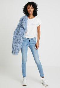 G-Star - LYNN MID SKINNY WMN NEW - Jeans Skinny Fit - neutro stretch denim - 1