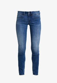 G-Star - LYNN MID SKINNY WMN NEW - Jeans Skinny Fit - dark-blue denim