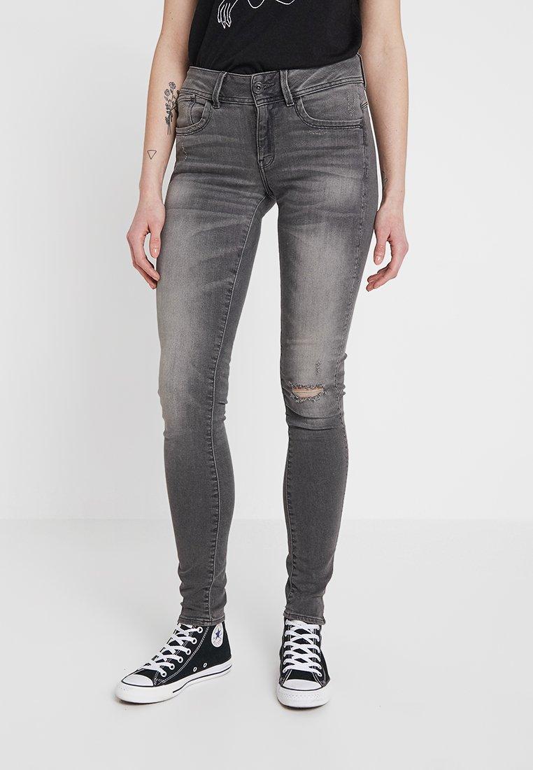 G-Star - LYNN MID SKINNY WMN NEW - Jeans Skinny Fit - elto black