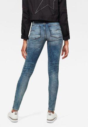 HIGH SKINNY  - Jeans Skinny Fit - blue denim
