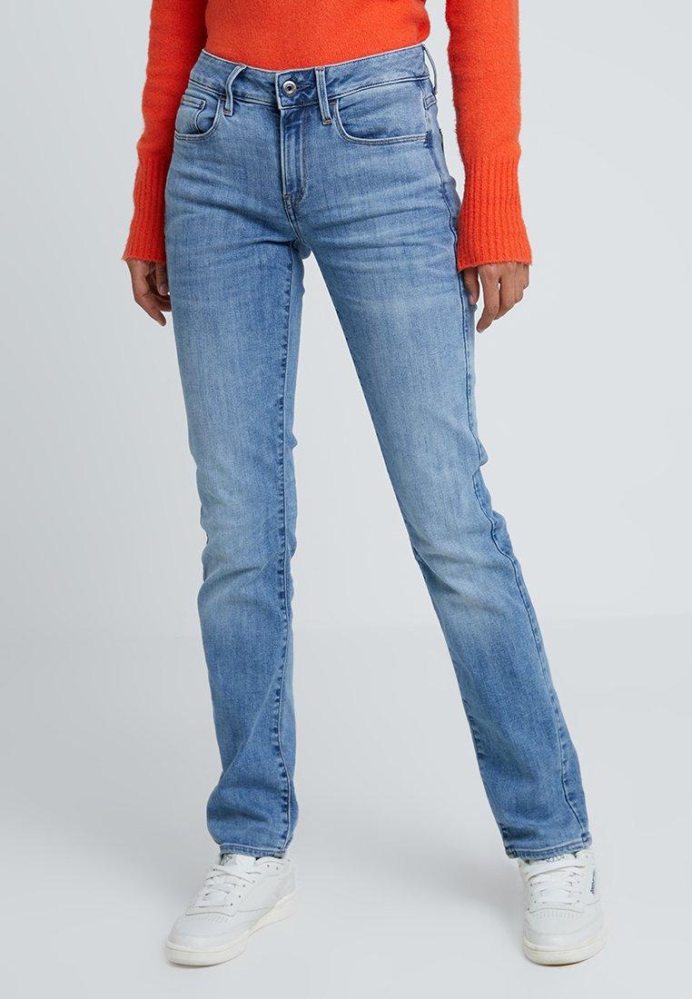 G-Star - 3301 DECONST MID STRAIGHT WMN - Jeans Straight Leg - elto