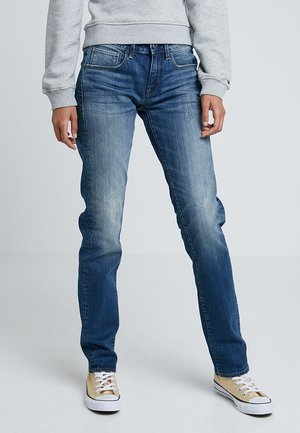 3301 DECONST MID STRAIGHT WMN - Straight leg jeans - higa stretch denim