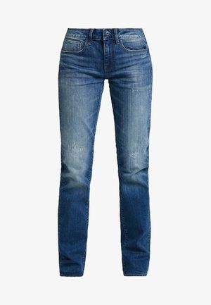 3301 DECONST MID STRAIGHT WMN - Straight leg jeans - higa stretch denim