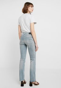 G-Star - SKINNY BOOTCUT - Bootcut jeans - wess grey superstretch - 3