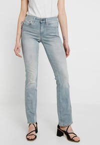 G-Star - SKINNY BOOTCUT - Bootcut jeans - wess grey superstretch - 2