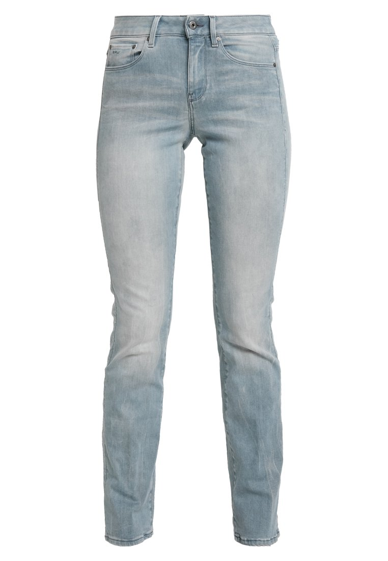 G-Star - SKINNY BOOTCUT - Bootcut jeans - wess grey superstretch