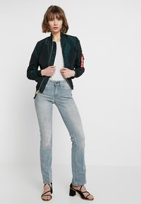 G-Star - SKINNY BOOTCUT - Bootcut jeans - wess grey superstretch - 1