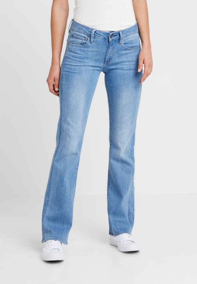 G-Star - SKINNY BOOTCUT - Jeans Bootcut - elto superstretch