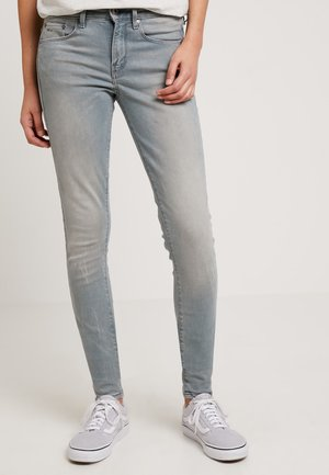 3301 MID SKINNY - Jeans Skinny Fit - wess grey superstretch