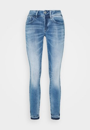 LYNN MID SKINNY RP ANKLE WMN - Jeans Skinny Fit - sun faded azurite
