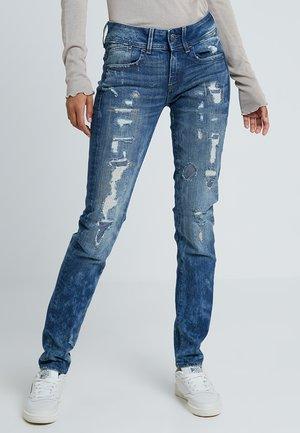 LYNN MID SKINNY RESTORED - Jeans Skinny - higa stretch denim