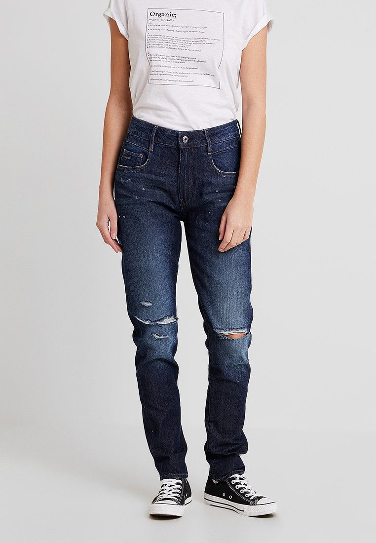 G-Star - RADAR MID BOYFRIEND TAPERED WMN - Relaxed fit jeans - sato denim