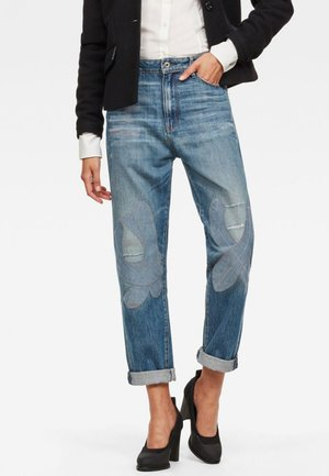 3301 HIGH BOYFRIEND TAPE RESTORED - Relaxed fit jeans - blue