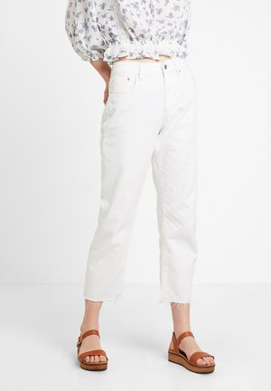 3301 RIPPED MID BOYFRIEND 7\8 - Relaxed fit jeans - lt aged