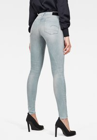 G-Star - 3301 DECONSTRUCTED MID WAIST SKINNY - Jeans Skinny Fit - blue - 1