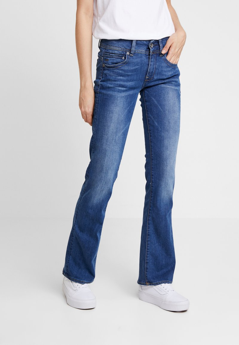 G-Star - MIDGE MID BOOTCUT   - Jeans bootcut - faded blue