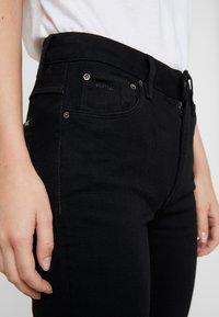 G-Star - 3301 HIGH SKINNY - Jeans Skinny Fit - pitch black - 4