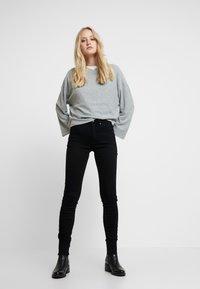 G-Star - 3301 HIGH SKINNY - Jeans Skinny Fit - pitch black - 1