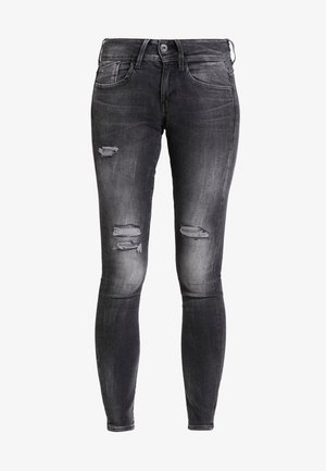 LYNN MID SKINNY WMN - Jeans Skinny Fit - antic charcoal destroy