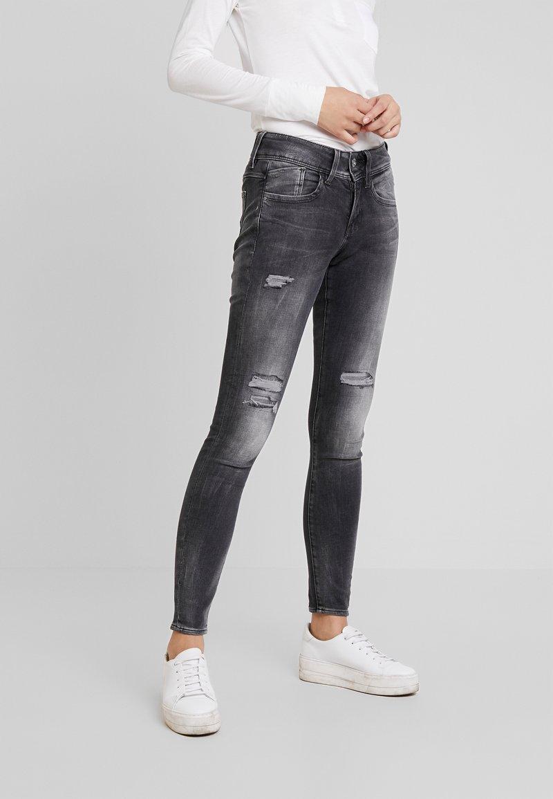 Skinny WmnJeans star Destroy G Mid Charcoal Lynn Antic iZuTXOPk