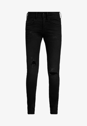 LYNN MID SKINNY WMN - Jeans Skinny Fit - worn in ripped lava