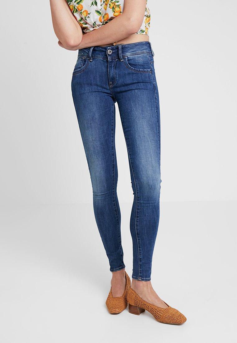 G-Star - LYNN MID SUPER SKINNY  - Jeans Skinny Fit - faded blue