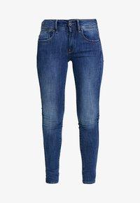 G-Star - LYNN MID SUPER SKINNY  - Jeans Skinny Fit - faded blue - 4