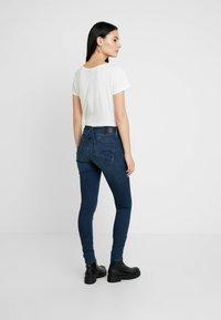 G-Star - LYNN MID SUPER SKINNY  - Jeans Skinny Fit - worn in naval - 2