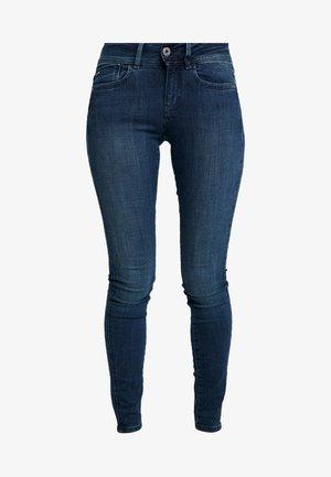 LYNN MID SUPER SKINNY  - Jeans Skinny Fit - worn in naval