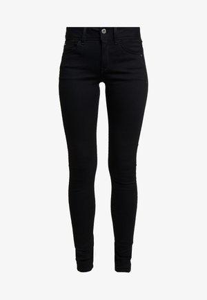 LYNN MID SUPER SKINNY  - Jeans Skinny Fit - pitch black