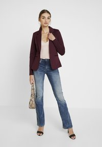 G-Star - 3301 HIGH FLARE - Flared jeans - medium aged - 1