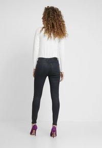 G-Star - ASHTIX ZIP HIGH SUPER SKINNY ANKLE WMN - Jeans Skinny Fit - premium cobler charcoal - 3