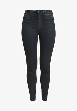 ASHTIX ZIP HIGH SUPER SKINNY ANKLE WMN - Jeans Skinny Fit - premium cobler charcoal